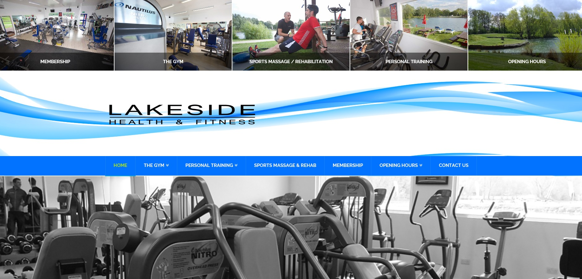 Lakeside Health and Fitness Club Website By T900 Website Design in Surrey