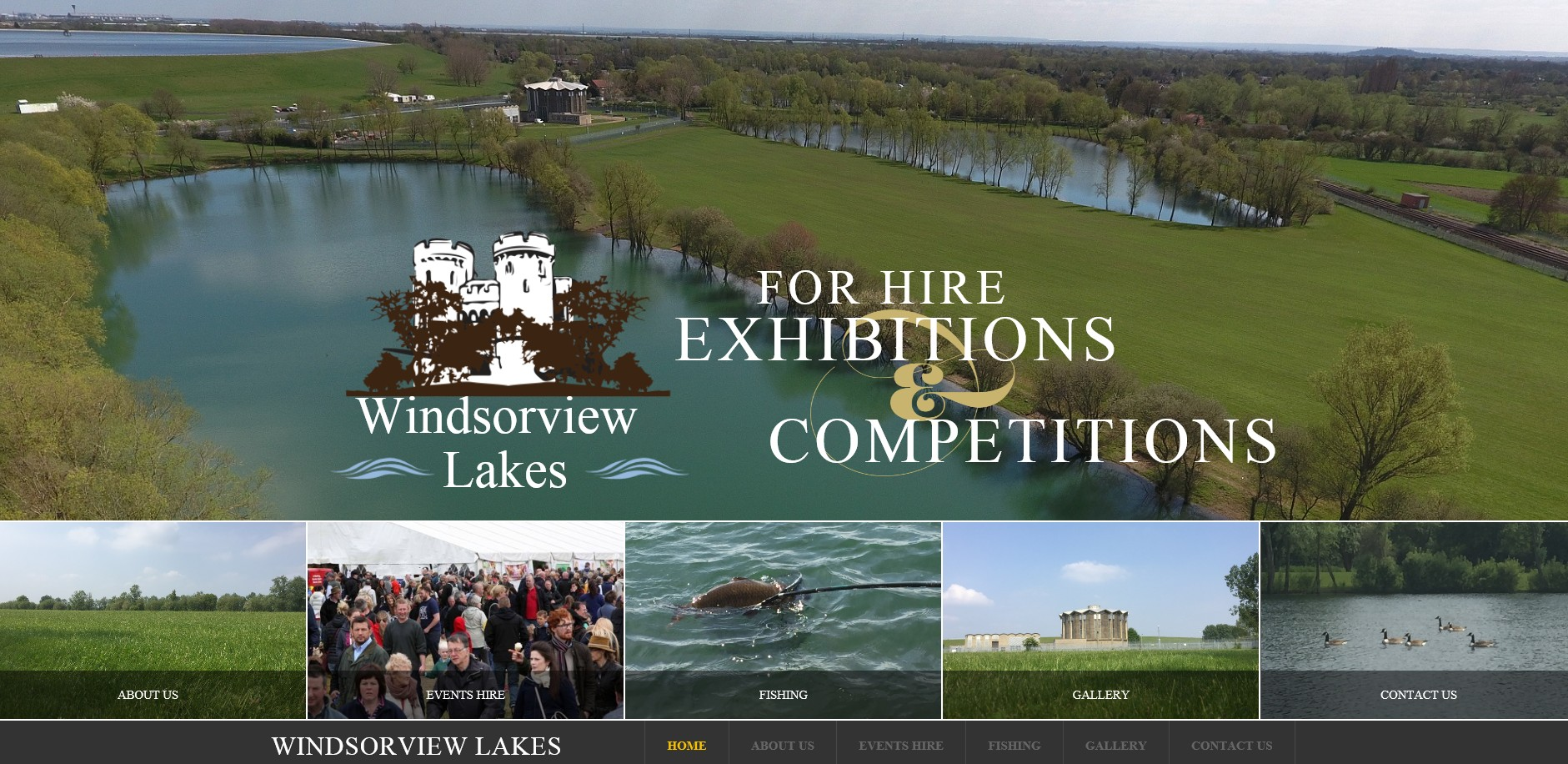 Windsorview Lakes By T900 Website Design in Surrey