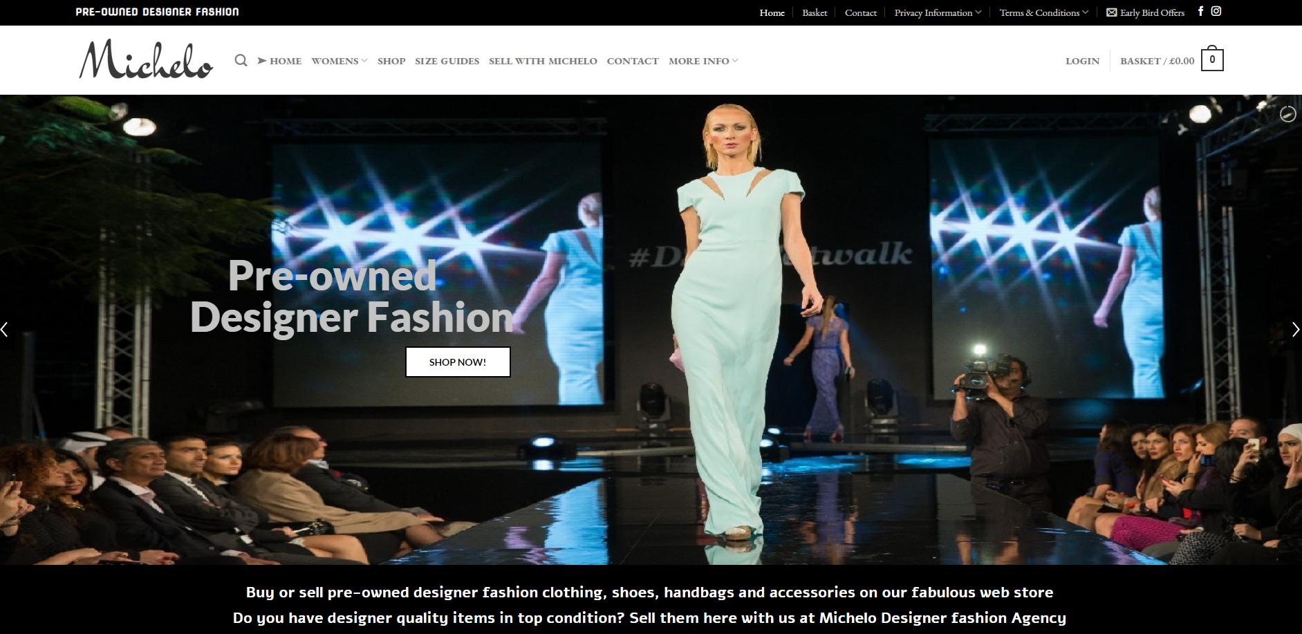 Michelo Haak Website By T900 Website Design in Surrey